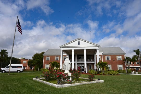 The Bon Secours Maria Manor nursing home in St. Petersburg, Fla., shown Feb. 12, 2019. Bon Secours, which is a highly-rated nonprofit home, is expecting to receive almost $850,000 less per year under a new Medicaid payment plan signed into law in 2017.