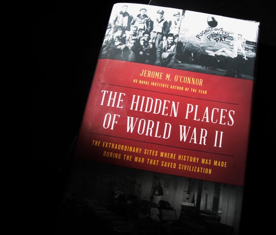 "Jerome O'Connor wrote a book called ""The Hidden Places of World War II."" He is a Naples winter resident from Chicago."