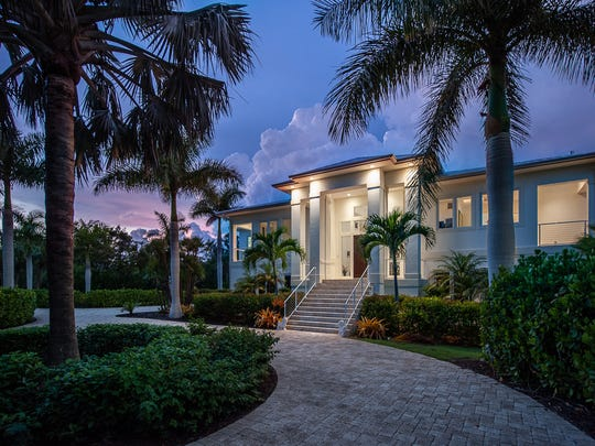 This home on Sanibel is modern, yet homey.