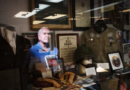 "Jerome O'Connor wrote a book, ""The Hidden Places of World War II."" He is a Naples winter resident from Chicago. He is reflected in World War II memorabilia at the Military Museum at the Naples Airport."