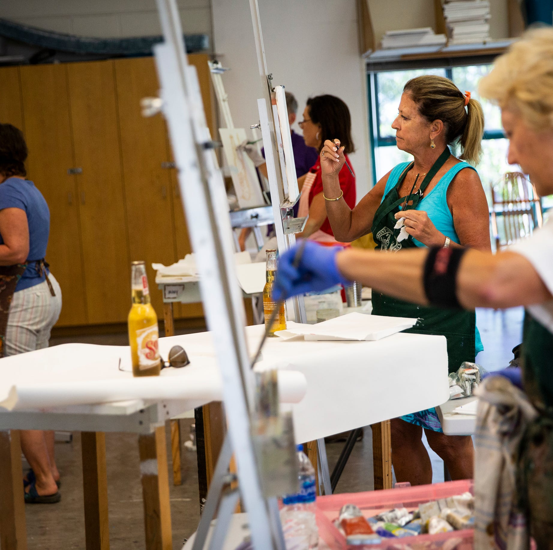 Running with brushes: Naples Art Association hits 65 years in full stride