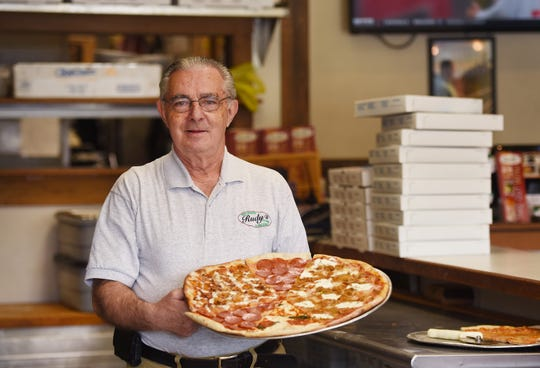 Charlie Osso, owner of Rudy's Pizzeria. The Closter, N.J. pizzeria came in second place in our March Madness #pizzawars.