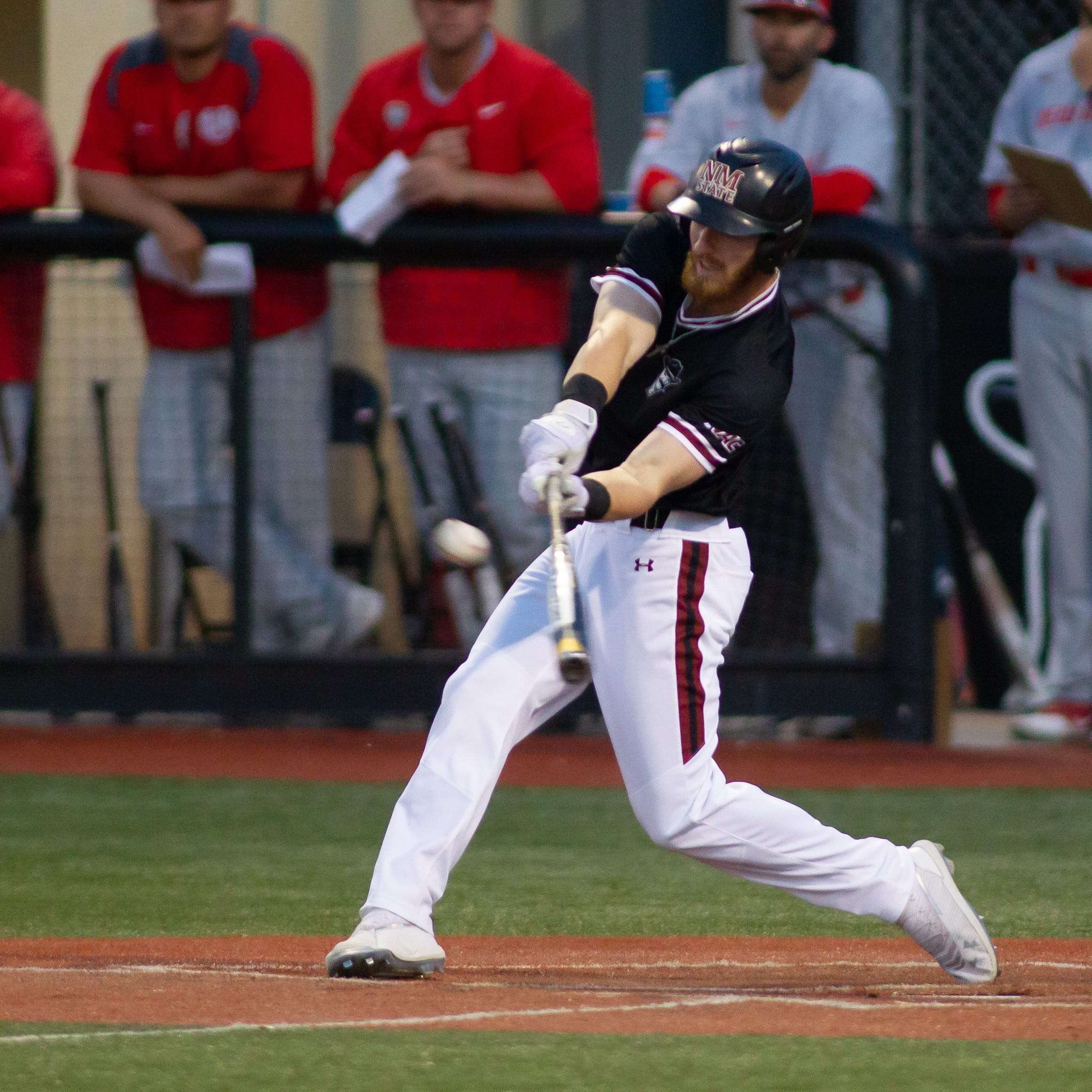 New Mexico State baseball tops Lobos for rivalry win