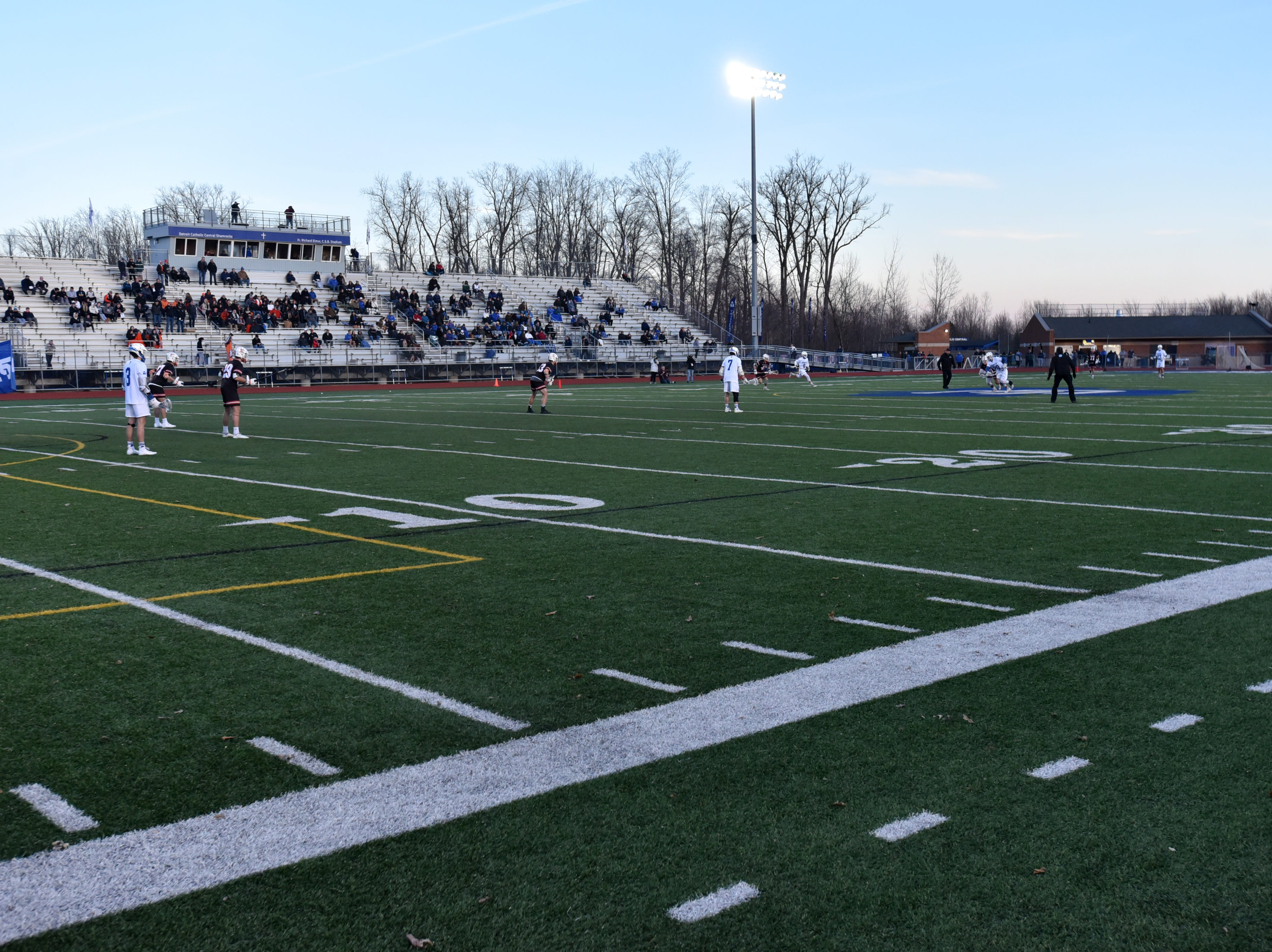 Detroit Catholic Central hosted Birmingham Brother Rice at their stadium on March 26.