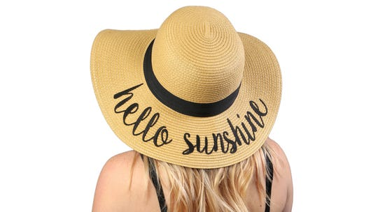 This floppy hat will shade you from the sun as well as complete your Coachella outfit.