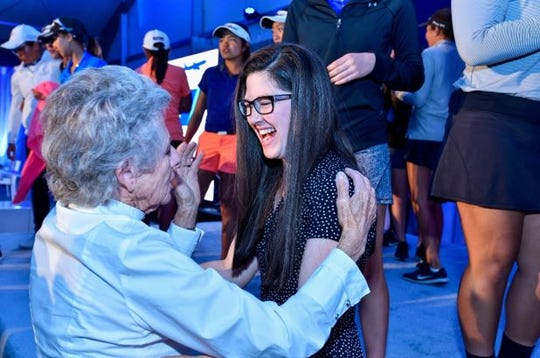 The ANA Inspiration tournament helps empower the next generation of women.