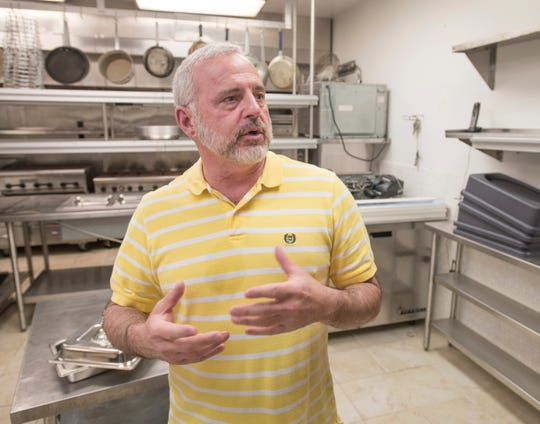 Kitchen manager Russell Scarritt talks about plans for the menu at the Alice's Restaurant coming soon to West Intendencia Street in Pensacola.