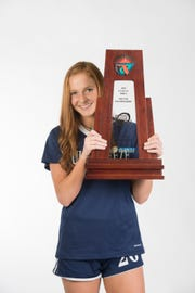 2019- Winter-PNJ All-Area Athlete - Kristen Goodroe - Gulf Breeze High School - Girls Soccer Player of the Year - portrait in Pensacola on Wednesday, March 27, 2019.