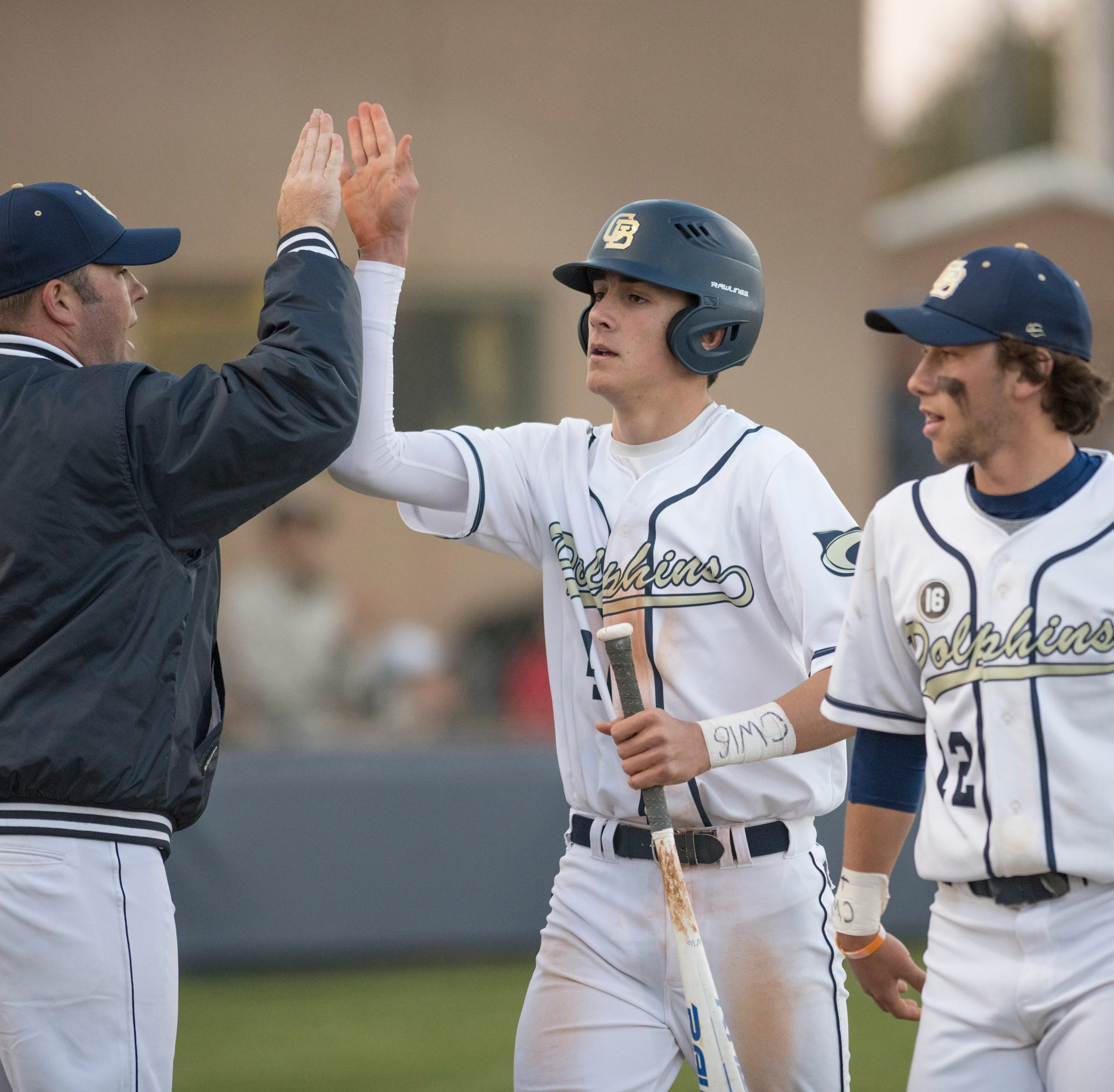 Gulf Breeze baseball gets signature win, beating Pace after Massey's clutch homerun