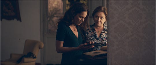 "Ana Ivanova (left) and Ana Brun star in ""The Heiresses."""
