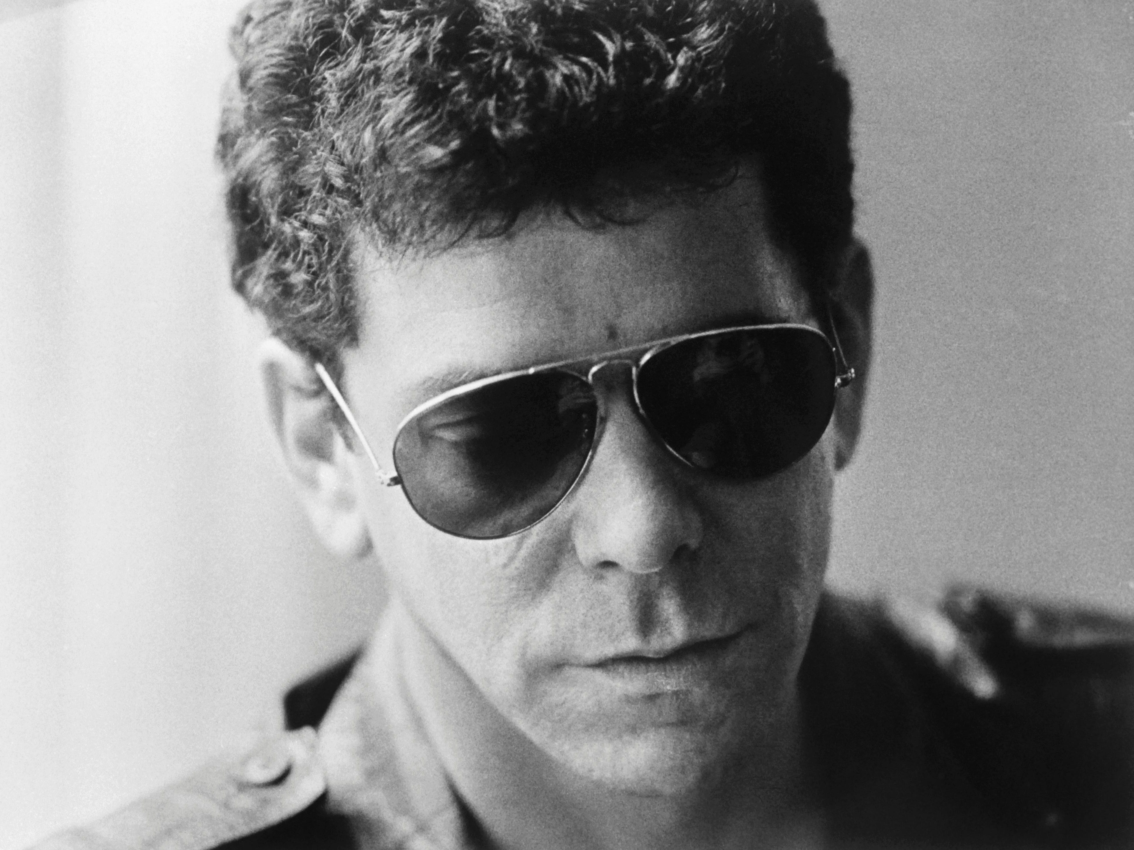 Picture released on April 4, 1983 of Lou Reed, in Stockholm.
