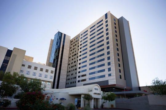 Banner-University Medical Center Phoenix's new 16-story tower opens Nov. 6, 2018. Photo taken Oct. 25, 2018.
