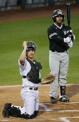 Redshirt sophomore catcher Sam Ferri is a key factor in the resurgence of No. 9 ASU baseball.