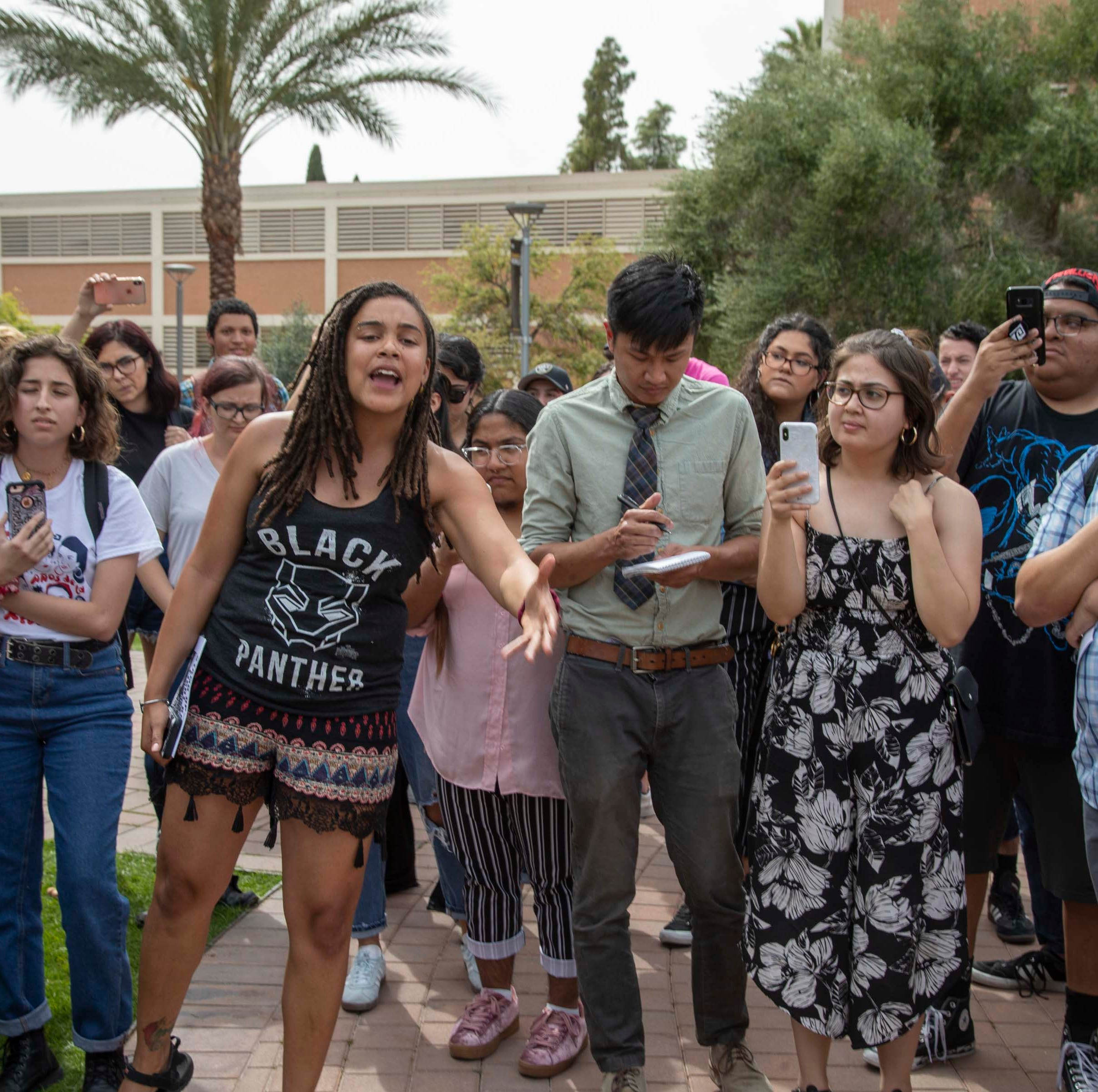 Students confront leaders of Republican group at ASU after racist, anti-Semitic postings