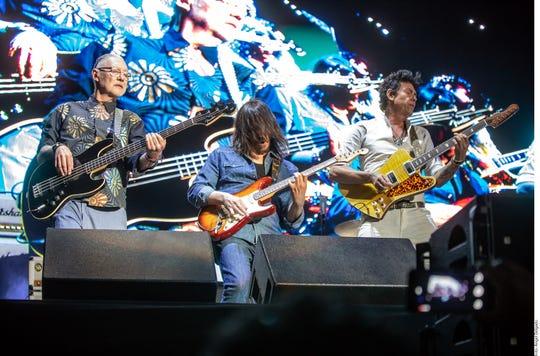 Caifanes participó en el Festival Vive Latino 2019.
