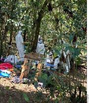 Apenas el pasado lunes, Aracely Salcedo explicó que hay osamentas inhumadas desde hace siete años por la delincuencia organizada.