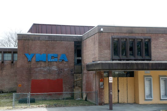 The former YMCA  in the City of Poughkeepsie on March 27, 2019.