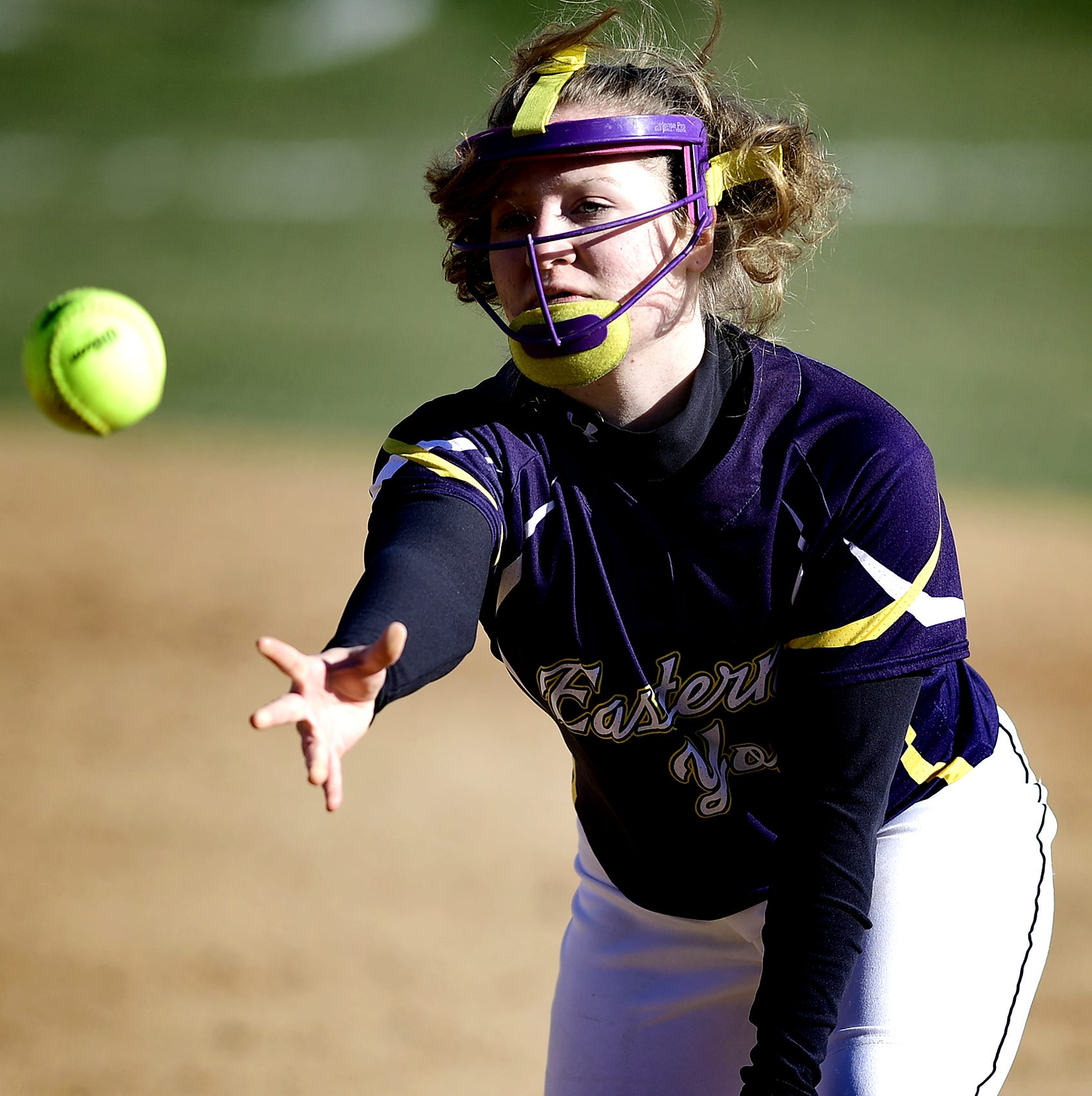 Area softball coaches, players debate need for protective masks for infielders, pitchers