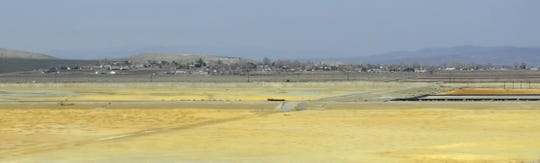 The Yerington Paiute Tribe's reservation sits just north of the Anaconda Mine's most contaminated areas.