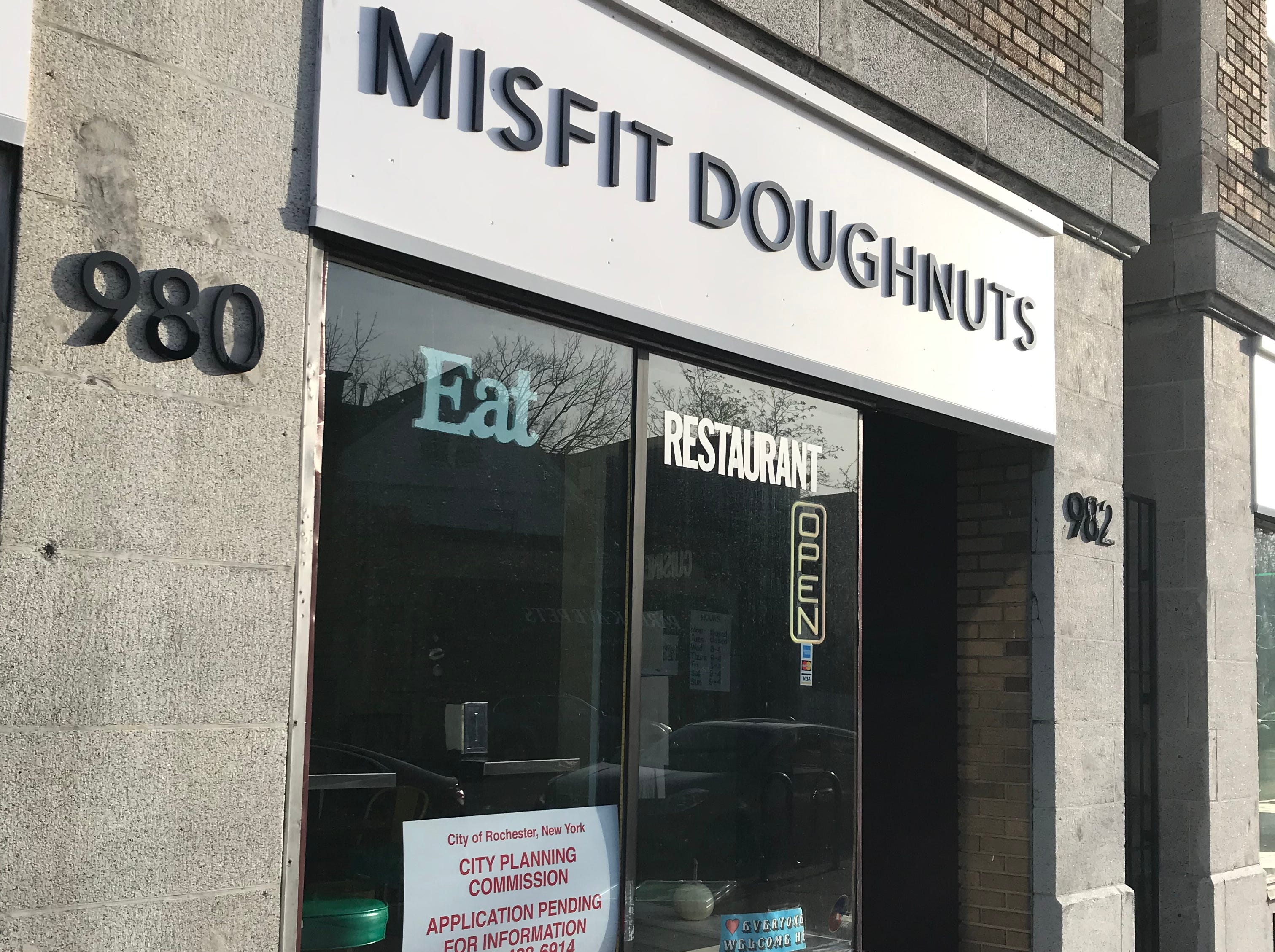 Misfit Doughnuts is at 982 Monroe Ave. in Rochester