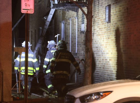 In addition to two businesses the building also housed 18 apartments, 12 of them were occupied.