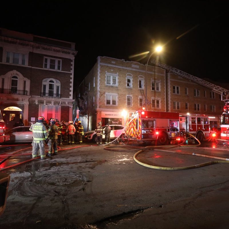 Fire at Monroe Avenue building that houses Misfit Doughnuts, other businesses considered 'suspicious'