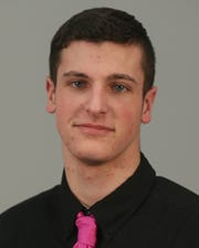 Tyler Snedden is a member of the All Greater Rochester team for winter sports 2019, Monday March 25, 2019.