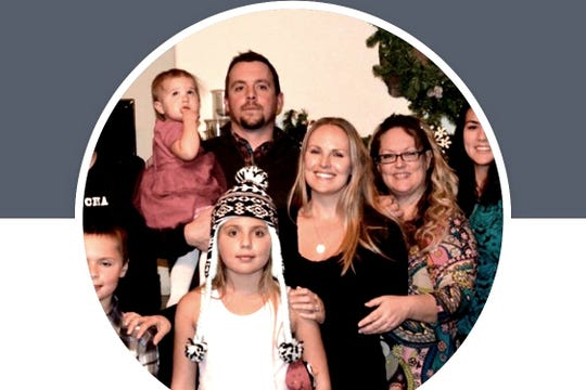 Andrew Machi, at top, died March 22, 2019, when a sneaker wave knocked him off rocks south of Trinidad and pulled into the ocean while he was fishing. A gofundme account has been set up to help his family.