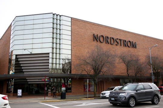 The Nordstrom building in downtown Salem on Jan. 31, 2018.
