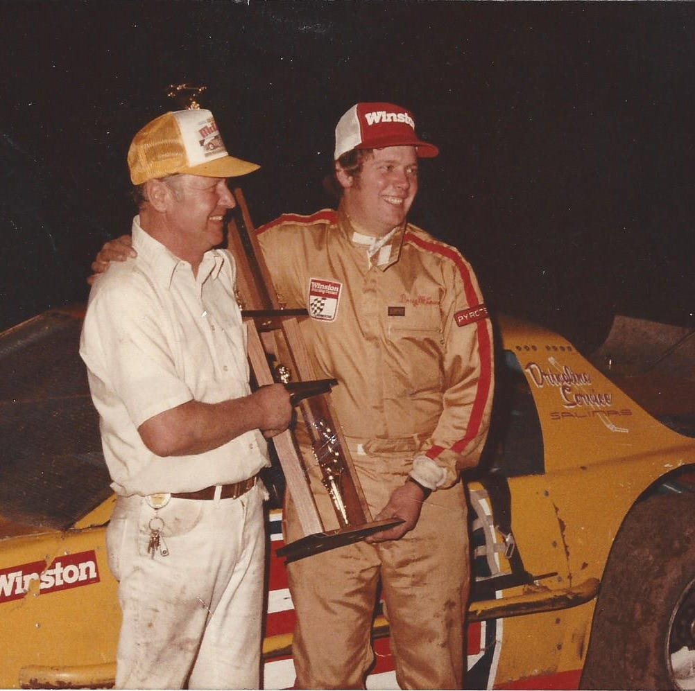 Burning rubber: Marina fire chief selected for West Coast Stock Car Hall of Fame