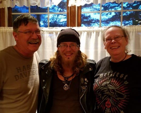 Bob, Joseph James and Sue Hunt