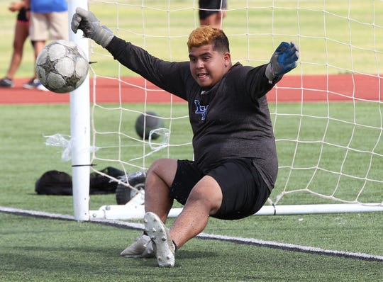 Lake View senior Kevin Salas was named the Goalkeeper of the Year on the 2019 All-District 4-4A Boys Soccer Team.