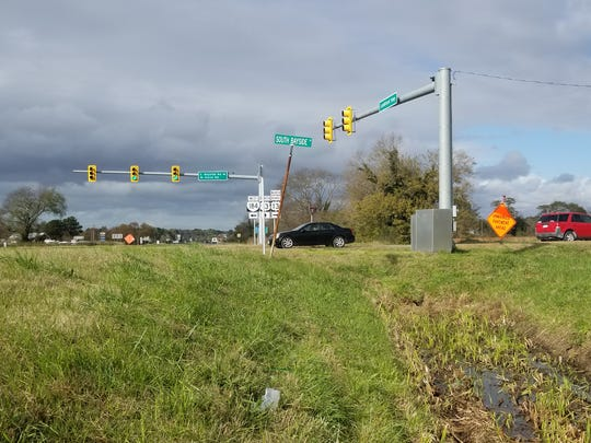 This stretch of Route 13 near Cape Charles is scheduled to get improvements.