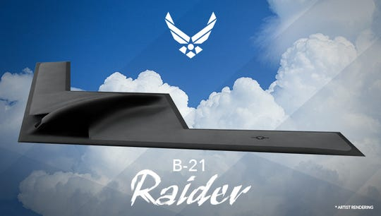 Bases currently home to units of the U.S. bomber fleet will likely be chosen to host the B-21 Raider because they have the capacity for large bombers.