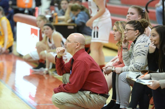 Riverheads girls basketball coach Gene Wassick is the All-City/County coach of the year.