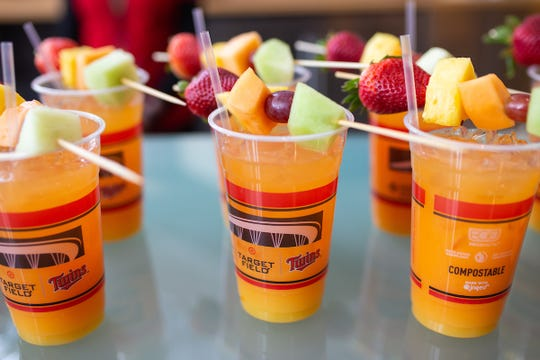 The Mimosa Mary is a featured beverage of the Minnesota Twins at Target Field this year.