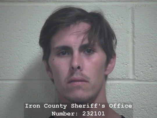 Jacob Alcantar, 27, of Cedar City, was arrested Tuesday on suspicion of witness tampering.