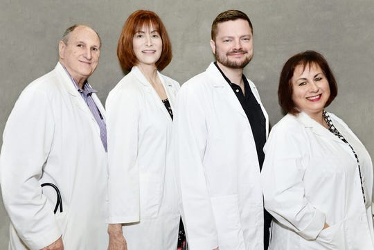 Dr. Ronald Goodman, left, Dr. Peggy Schneider, Dr. Joshua Fowler and Dr. Carmen Rosado have joined Whole Family Health Center as the nonprofit organization expands healthcare services in Fort Pierce and Vero Beach.