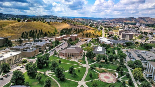 The South Dakota School of Mines and Technology, the university where Heather Wilson was president for almost four years, has about 2,600 students and is located in Rapid City, S.D.