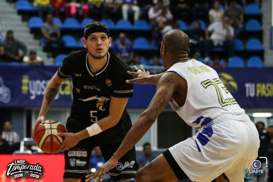 Former Bowie basketball player Jesse Lopez is playing professional basketball in Mexico.