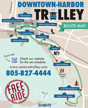 The Ventura trolley, which ran from downtown to the harbor, will stop running at the end of the March 2019.