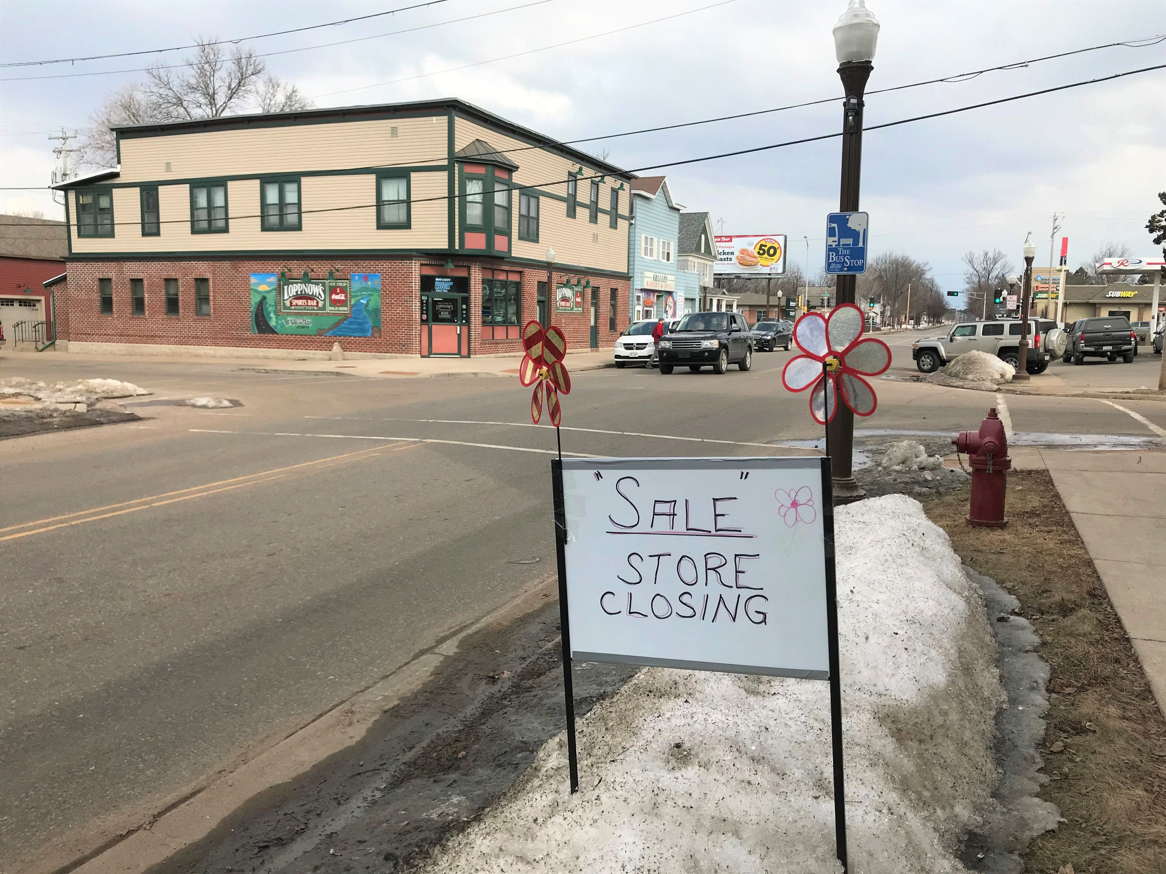 With This Ring bridal shop is having multiple sales as it prepares to close for good on Sunday.