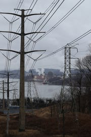The Indian Point Energy Center nuclear power plant in Buchanan as seen from across the Hudson River in Tomkins Cove March 21, 2019.