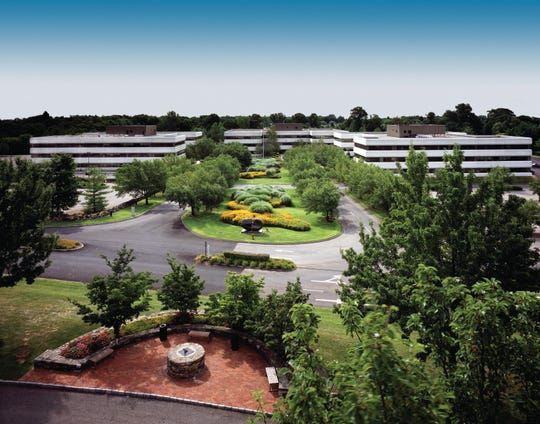 """POP Displays USA will relocate its headquarters to the former Reckson Executive Park, now called """"Kingsbrook."""" The company's manufacturing facility will be moving to Georgia."""