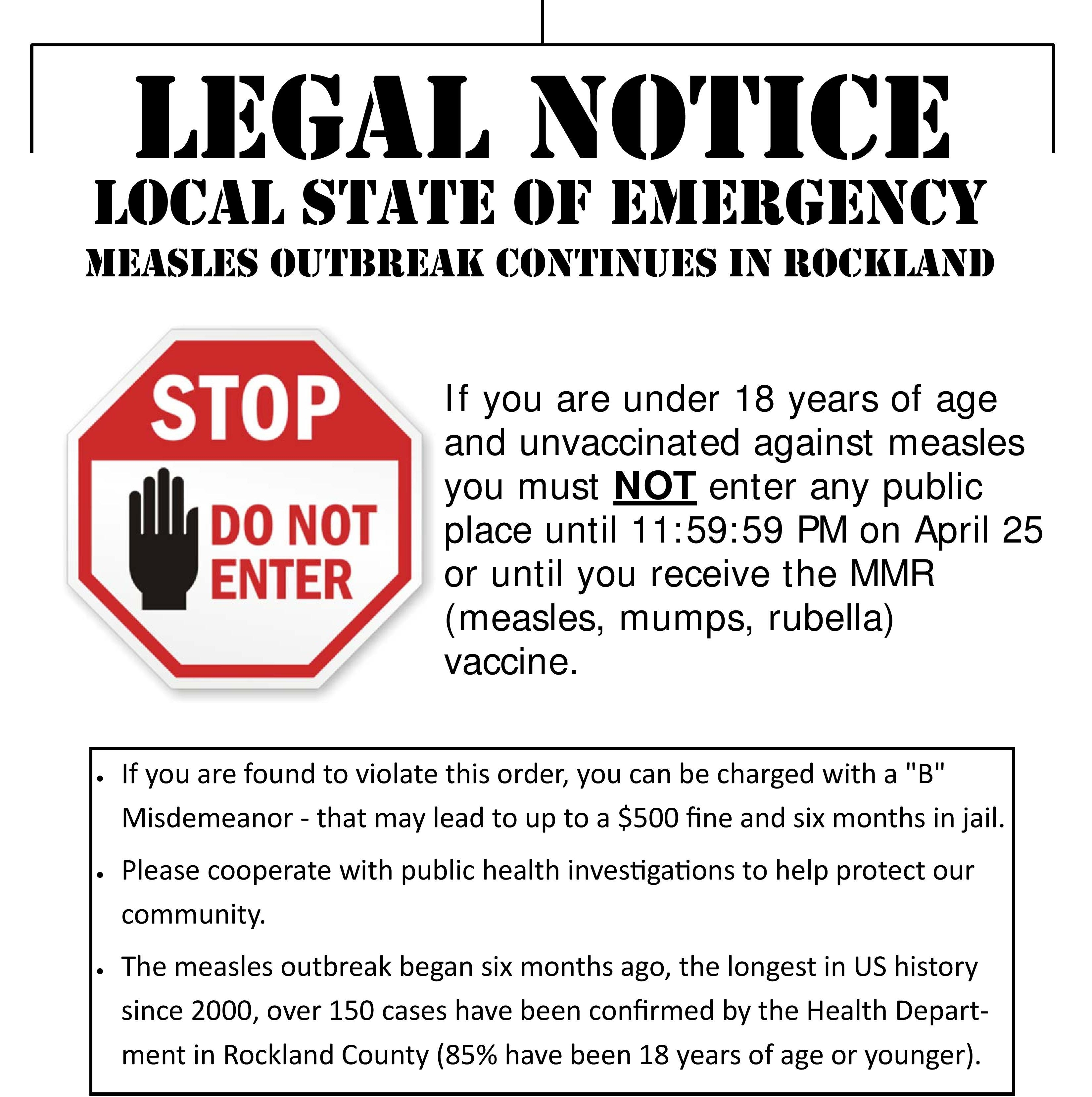 Rockland measles emergency: 5 things to know