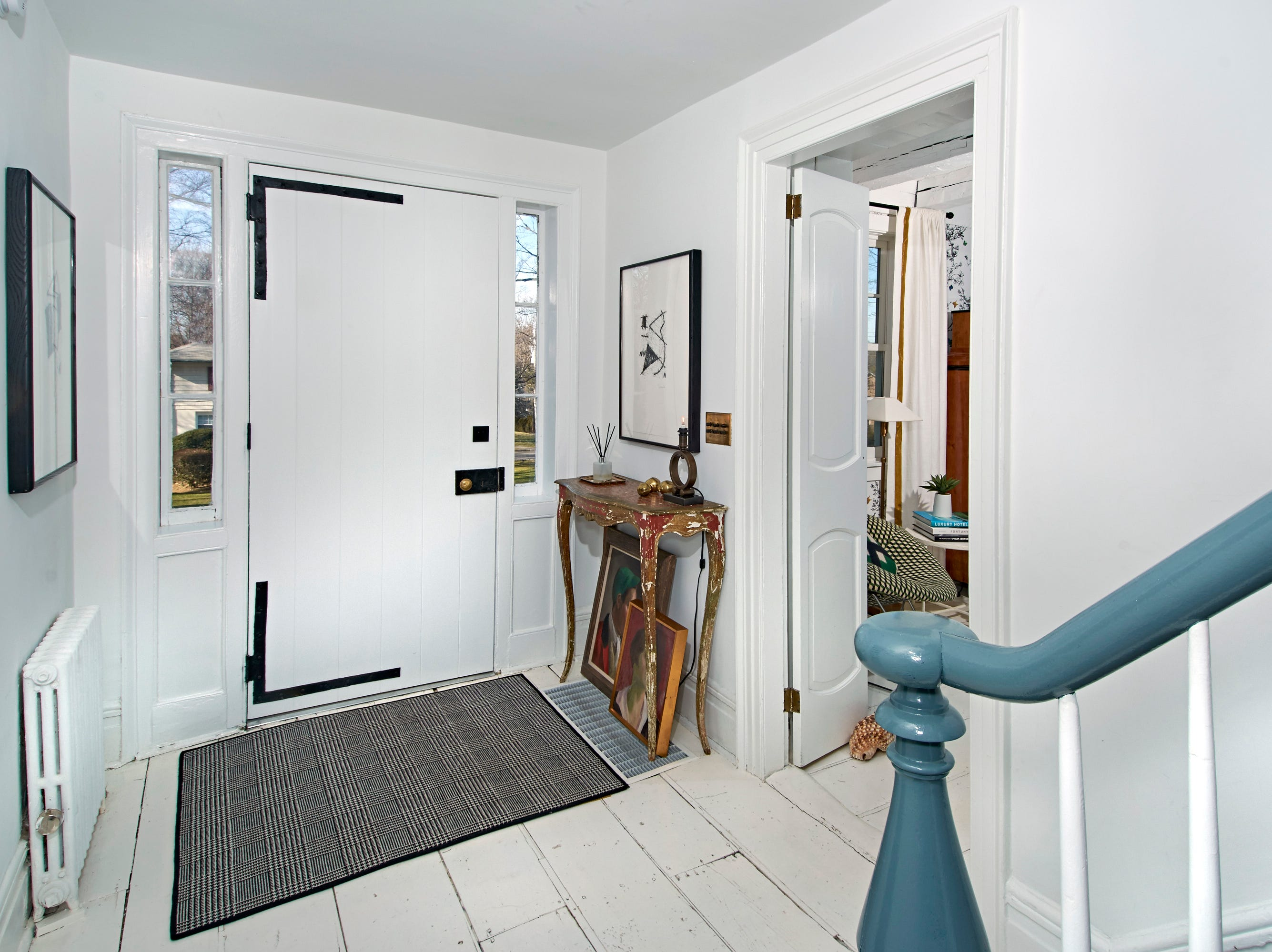 """It was a labor of love for us; we tried to pay attention to every detail,"" says Andrew Flesher of his transformation of a 1710 White Plains colonial."