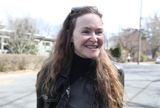 """If the goal is to be promoting public health, then I think the tactics employed may have been better re-thought,"" said Loreen Costa of Valley Cottage outside Dr. Kenneth Zatz's office in South Nyack on Wednesday, March 27, 2019."