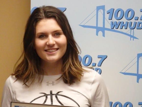 Irvington girls basketball's Mia Mascone is the Con Edison Athlete of the Week