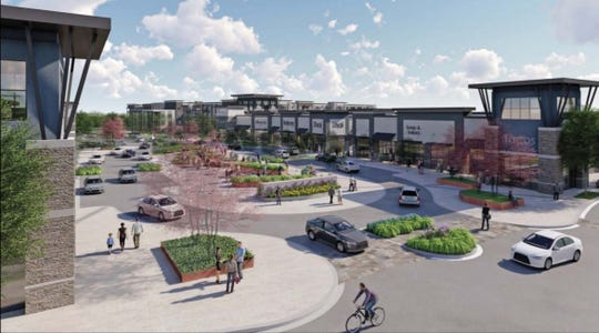 "Fusco Management plans on redeveloping the neglected College Square Shopping Center in Newark into a ""vibrant, walkable, bikeable, active-lifestyle center."""