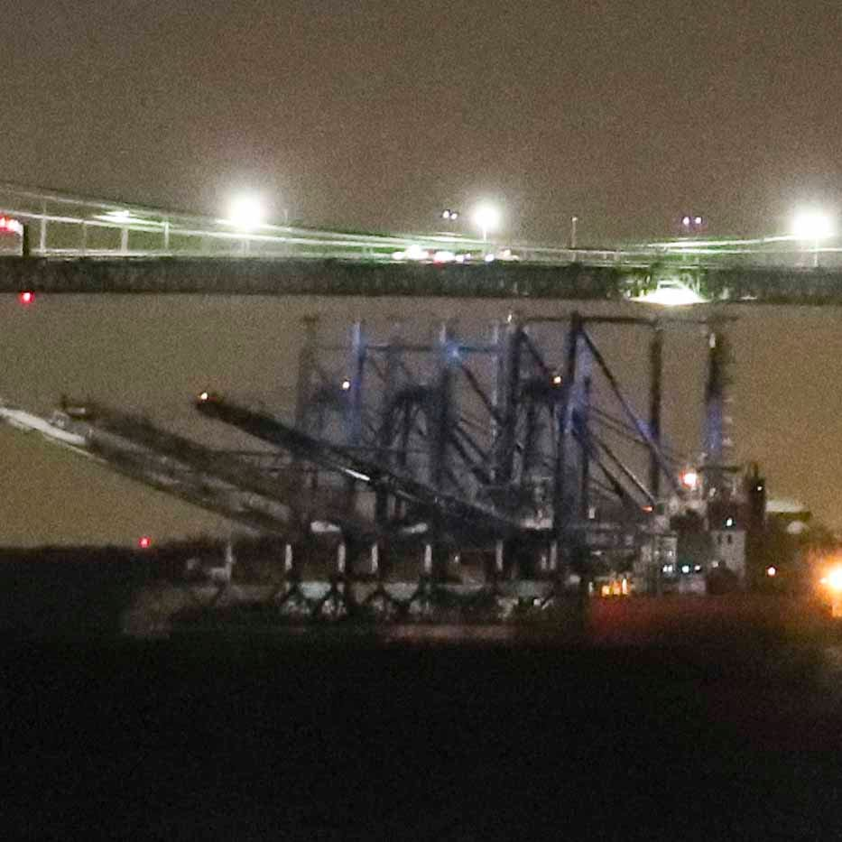 Delaware Memorial Bridge to close again as huge crane heads back down the river
